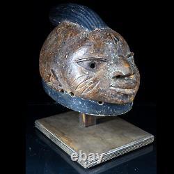Fine Old Yuroba Gelede Mask from Nigeria