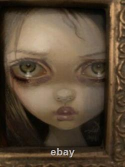 HOLIDAY SALE Jasmine Becket-Griffith Original Painting Return From the Shadows