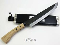 Hinoura Ajikataya Hunting knife single edge Blade length 240mm from Etigo Japan