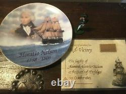 Hms Victory Model Trafalger 200 Limited Edition Original Wood From Victory