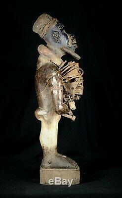 Huge Powerful Nkisi Nkondi from the Democratic Republic of the Congo