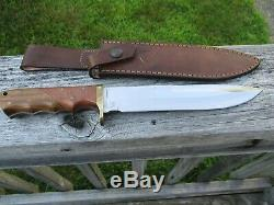 J Rossi Custom Bowie Knife Argentine Another Quality Knife From Collection