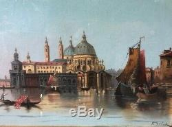 Karl Kaufmann (F. HERINK), (1843-1901) View from Venice, REDUCED