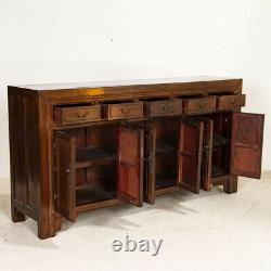 Large Antique Sideboard Buffet Console from China