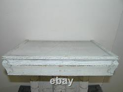 Large Antique White Oak Console From France Shabby Chic