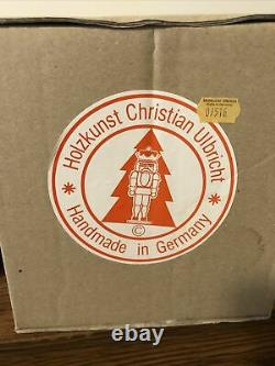 Limited Edition Ulbricht Sleepy Dwarf Nutcracker From Snow White 7 Germany Box