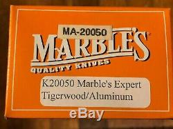 Marbles knife, original all spacers from original stock with unique design