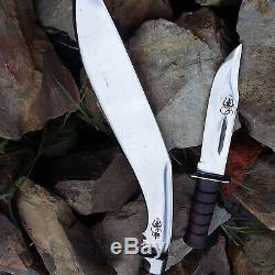 Master Bushcraft Afghan kukri-khukuri-Gurkha knife-knives-16 Blade from Nepal