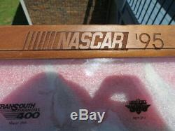 NASCAR Bear MGC 1995 10 Knife Collection ALL 10 MAJOR RACES FROM 1995 DISPLAY
