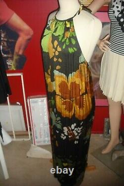 Natalie Wood Personally Owned & Worn 1970's Chiffon Floral dress from Costumer