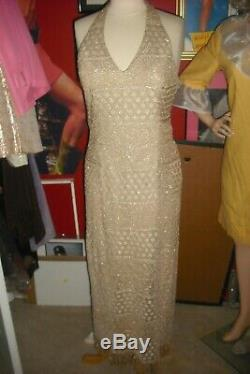 Natalie Wood Personally Owned & Worn 1970's Long sleeveless Gown from Costumer