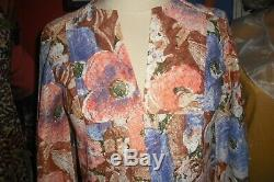 Natalie Wood Personally Owned Worn 1970's Multi-Color Print Dress from Costumer