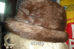 Natalie Wood Personally Owned & Worn Faux Fur Hat from Friend Costumer Warner