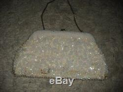 Natalie Wood Personally Owned & Worn White Evening Bag from Costumer