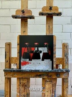 Original realism oil painting of Coca-Cola direct from artist James Zamora