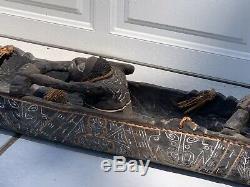 Papua New Guinea Spirit Canoe from Estate