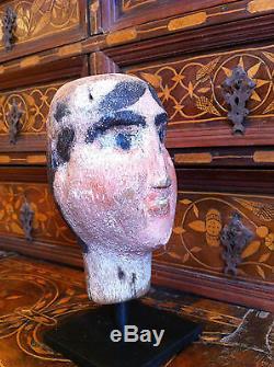 Puppet Head Italian 19th Century From Sicily