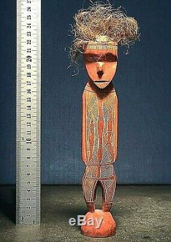 Rare sculpture from the ABORIGINES of AUSTRALIA ethnographic oceanic cool oz art