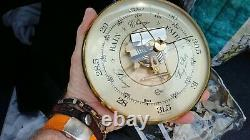 Really beautiful warm ANTIQUE CLOCKS & WEATHER STATIONS FROM AROUND THE WORLD