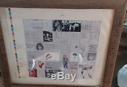 Ron Wood Written Notes ORIGINAL Album Ideas From 1960-1970's Rolling Stones