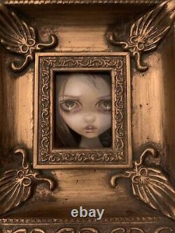 SALE Jasmine Becket-Griffith Original Painting Return From the Shadows
