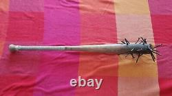 SAW II Wood Bat Prop With Nails From The House Scenes Used By Xavier Spiral