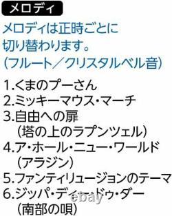 SEIKO CLOCK Disney Wall Clock Mickey & Minnie FW579B from Japan