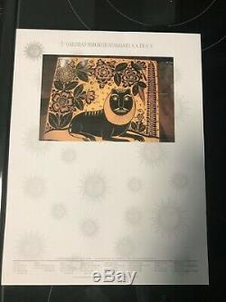 SERGIO BUSTAMANTE ORIGINAL PAINTING 1973. With 15 K APPRAISAL LETTER FROM 2011