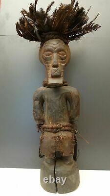 SONGYE NKISI fetish 65 cm DR from Congo African Art