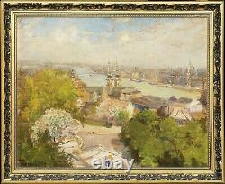 Sándor Turmayer Budapest landscape from 1920 FRAMED SIGNED HD Pictures
