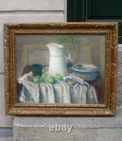 Sigurd Lonholdt (1910) Rare Still-life from the Royal Academy. Dated 1941