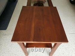 Stickley Mission Oak Arts & Crafts Lamp Table. We bought from Stickely furniture