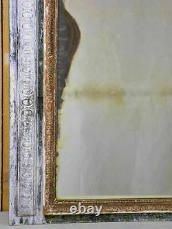 Stunning mantle trumeau mirror from the early 19th century and original patina 3