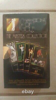 Tiger Woods Rookie Card from Masters. GSV Masters Collection. Grand Slam Ventu