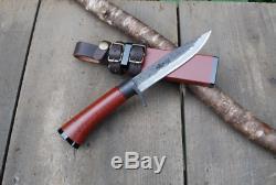 Toyokuni Fishing knife White steel Free forging Urushi 120 mm from Tosa Japan