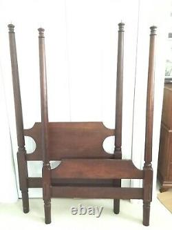 Two 1848 High Poster Twin Beds from Mount de Chantal Visitation Academy Wheeling