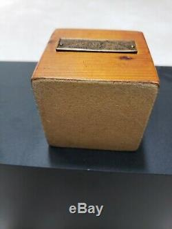 VERY RARE 1950 Lighter made from original White House Wood President Truman