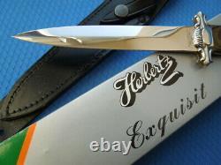 VINTAGE C. Jul. HERBERTZ Premium dagger SILVER HORSE from 70/80th GERMANY