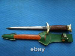 VINTAGE Hugo KÖLLER Premium dagger HIRSCHFÄNGER from 50/60th GERMANY
