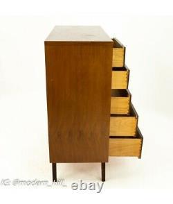 VTG MCM Magna Highboy Wood Dresser Furniture from Texas