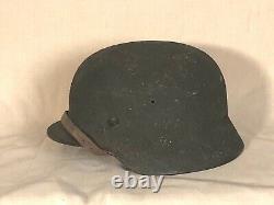 Very original Wood chip camo named helmet. Fresh from an estate sale