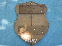 Vietnam War US Army Jungle Eaters wood plaque from estate of vet 60th