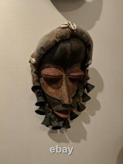 Vintage African Dan Mask From Liberia