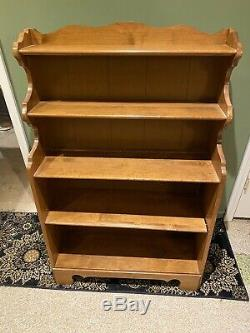 Vintage Ethan Allen Bookcase From The 1980s