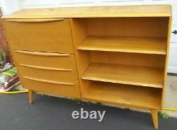 Vintage Heywood Wakefield Bookcase Secretary Wheat M 328 W FROM ESTATE RAREFIND