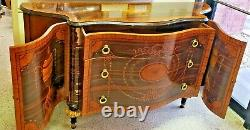 Vintage Neoclassical Style Buffet Table from Rho Mobili D' Epoca of Italy