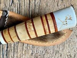 Vintage Sami knife from Sweden lapland