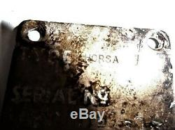 WW2 Horsa Glider ID Plate and Piece of wood from D-Day