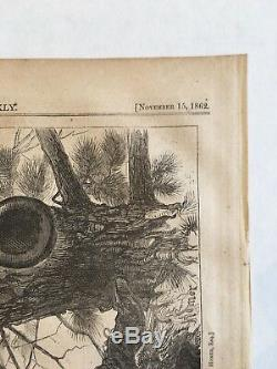 Winslow Homer Sharp Shooter Wood Engraving from Harper's Weekly 1862