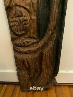 Witco Wall Carving Polynesian Family From the Tiki Quest Collection